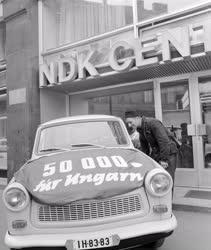 Városkép-életkép - Az 50 ezredik Trabant