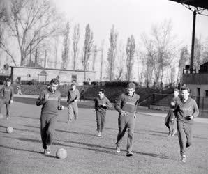 Sport - Ganz-Mávag labdarúgói edzenek