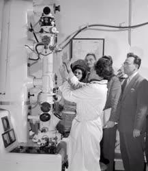 Oktatás - Az első elektronmikroszkópos tanfolyam