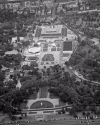 Városkép - Légi felvétel - Budapesti Ipari Vásár