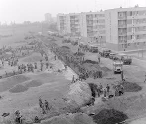Belpolitika - A magyar-szovjet Barátság park építésén
