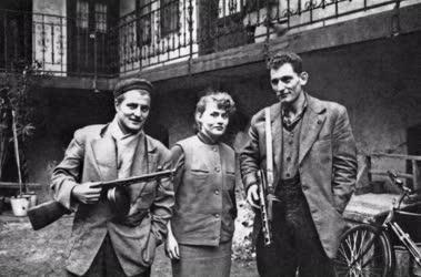 Belpolitika - '56-os forradalom - Corvin-köz