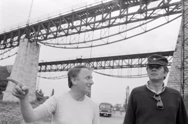 Kultúra - A Viadukt című film forgatása